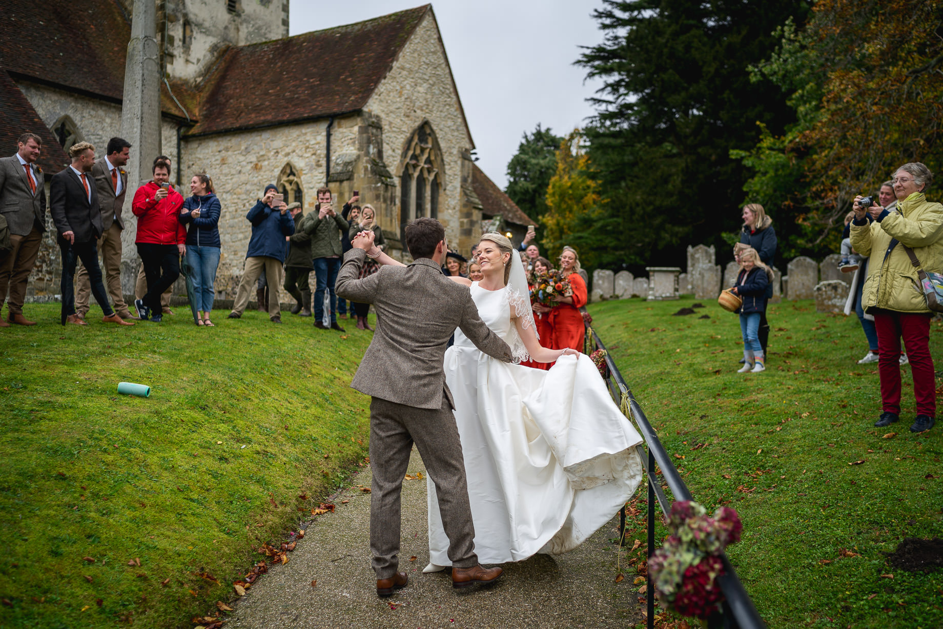 Micro wedding photography in West Sussex