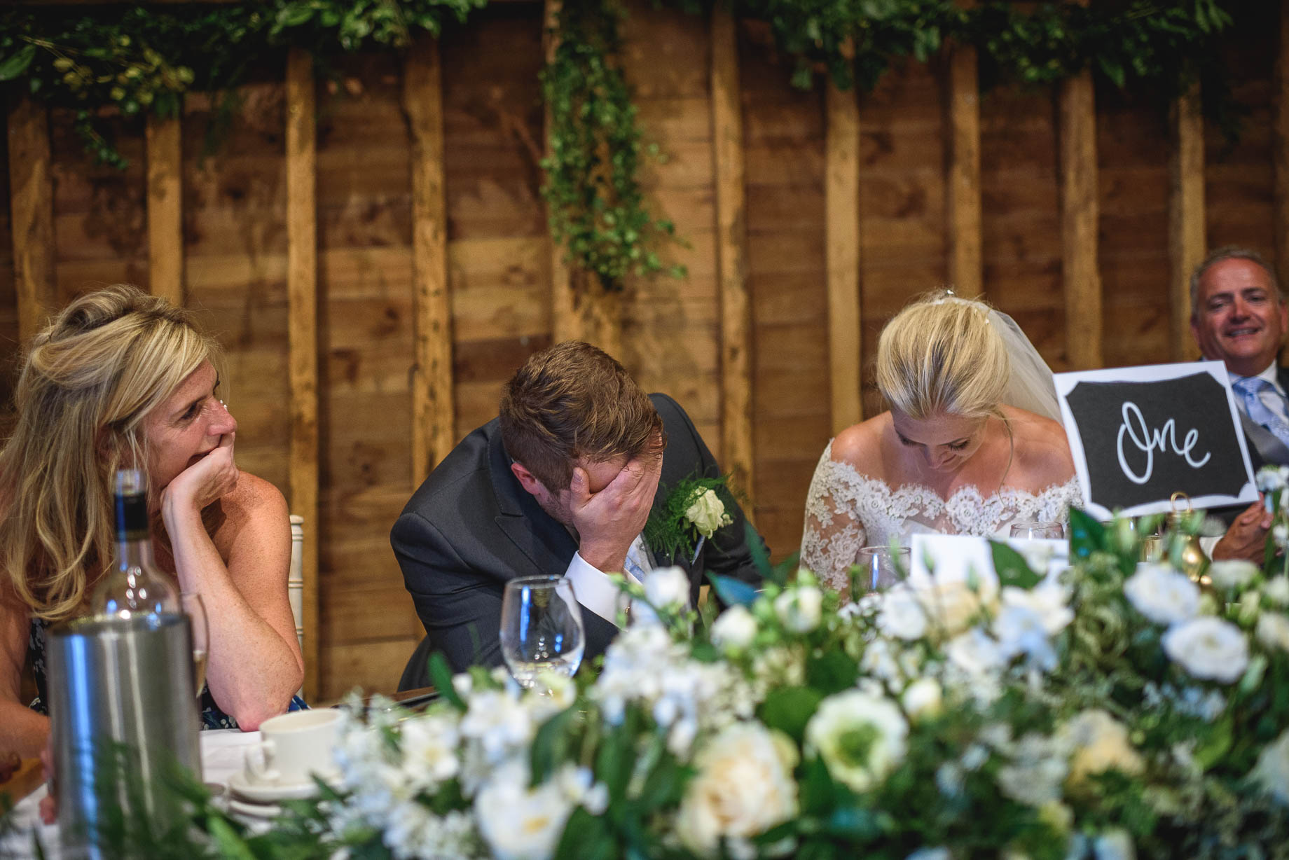 Hertfordshire wedding photography - Hannah + Ollie at Tewin Bury Farm