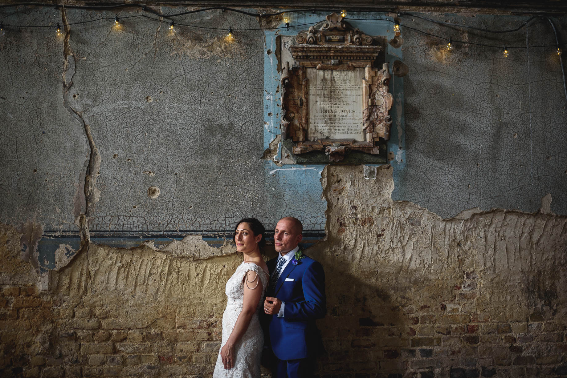 The Asylum + Brunswick House wedding photography - Becca + John