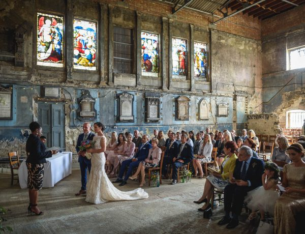 The Asylum + Brunswick House wedding photography - Becca + John