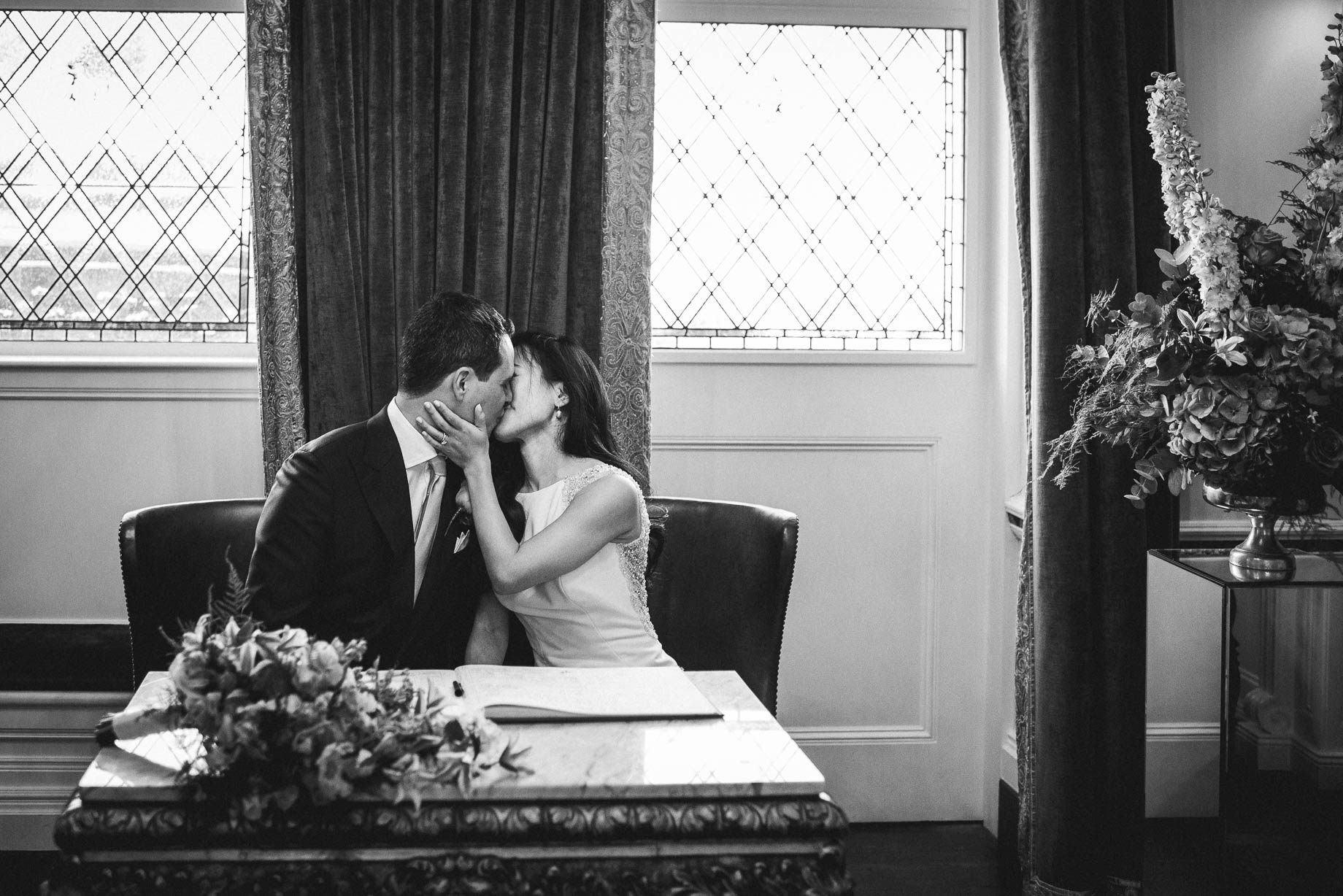 The Connaught wedding photography - Angela and Stefano