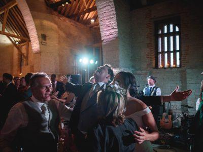 Tithe Barn wedding photography - Jayme and David