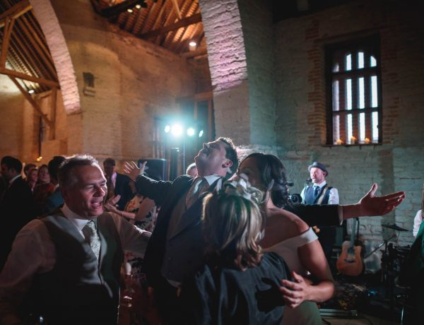 Tithe Barn wedding photography - Jayme and David