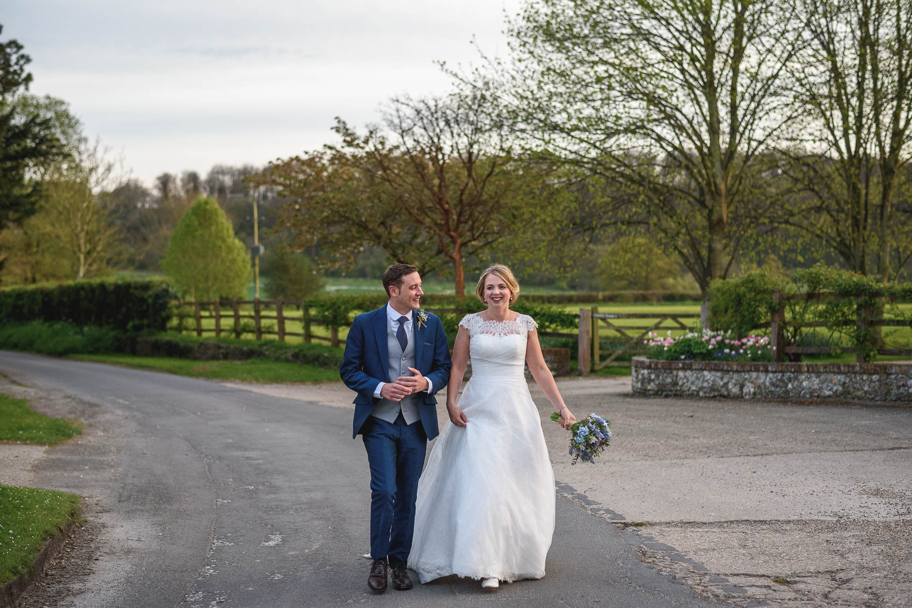 The Tithe Barn wedding photography - Louise + Ed