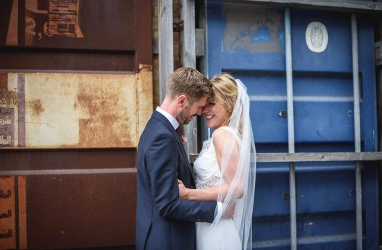 Trinity Buoy Wharf wedding photography - Katie + James