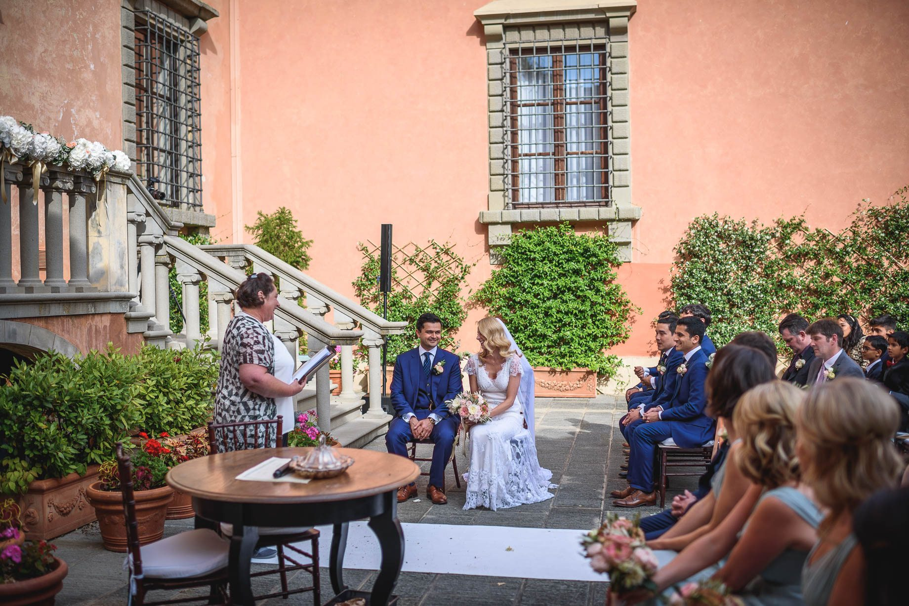 Tuscany wedding photography - Roisin and Moubin - Guy Collier Photography (107 of 251)