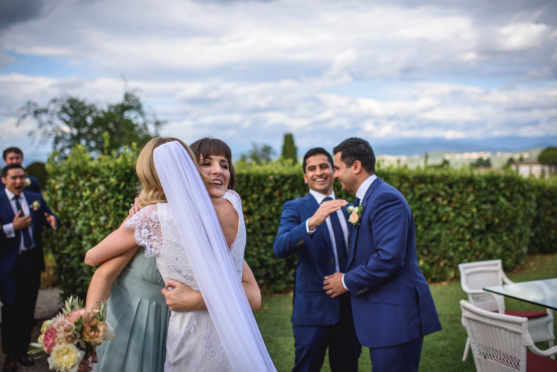 Tuscany wedding photography - Roisin and Moubin - Guy Collier Photography (117 of 251)