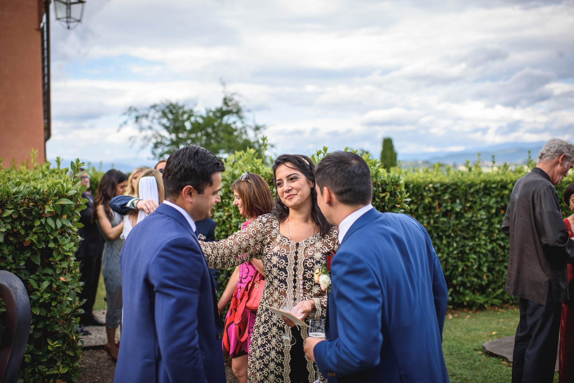 Tuscany wedding photography - Roisin and Moubin - Guy Collier Photography (127 of 251)