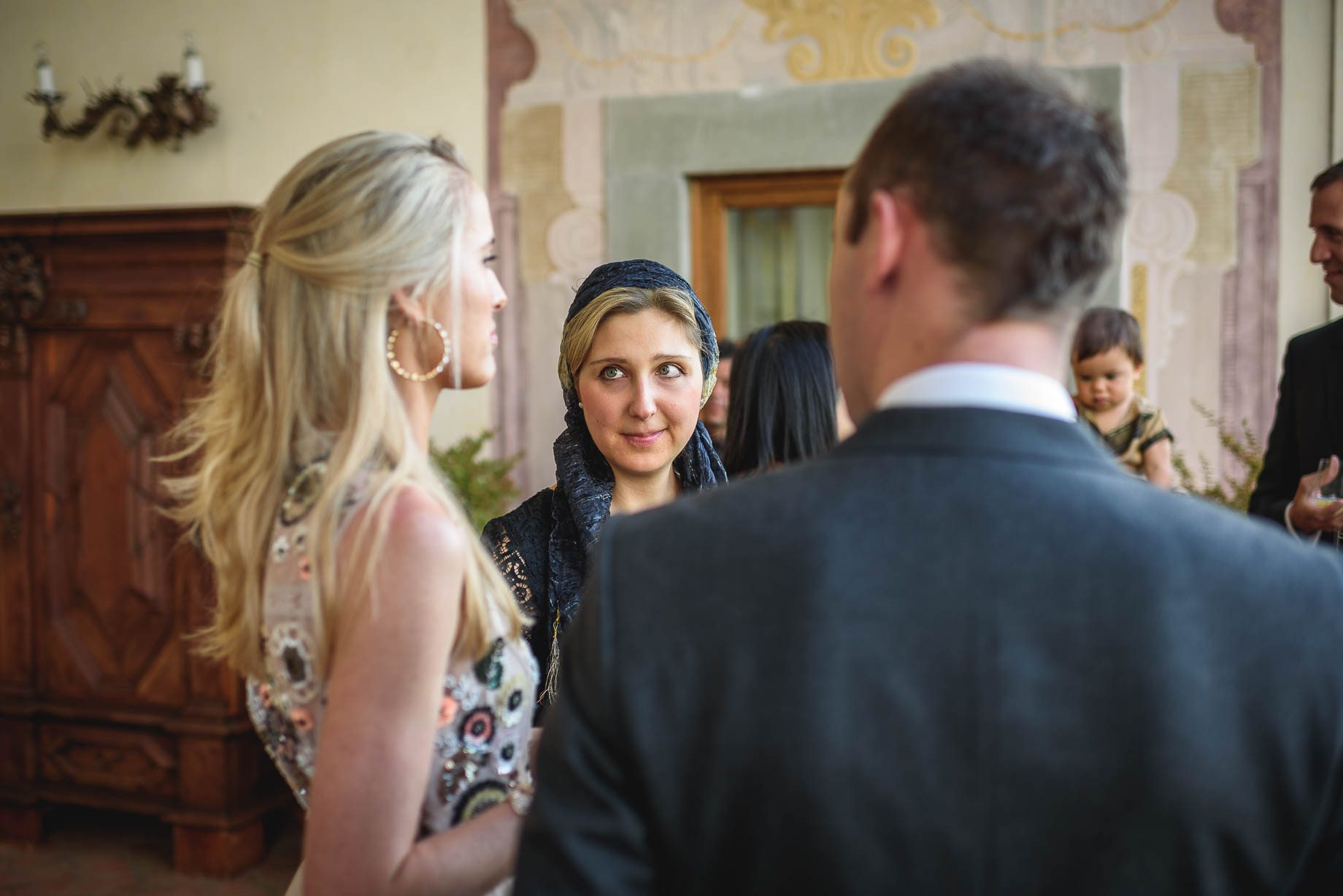 Tuscany wedding photography - Roisin and Moubin - Guy Collier Photography (144 of 194)
