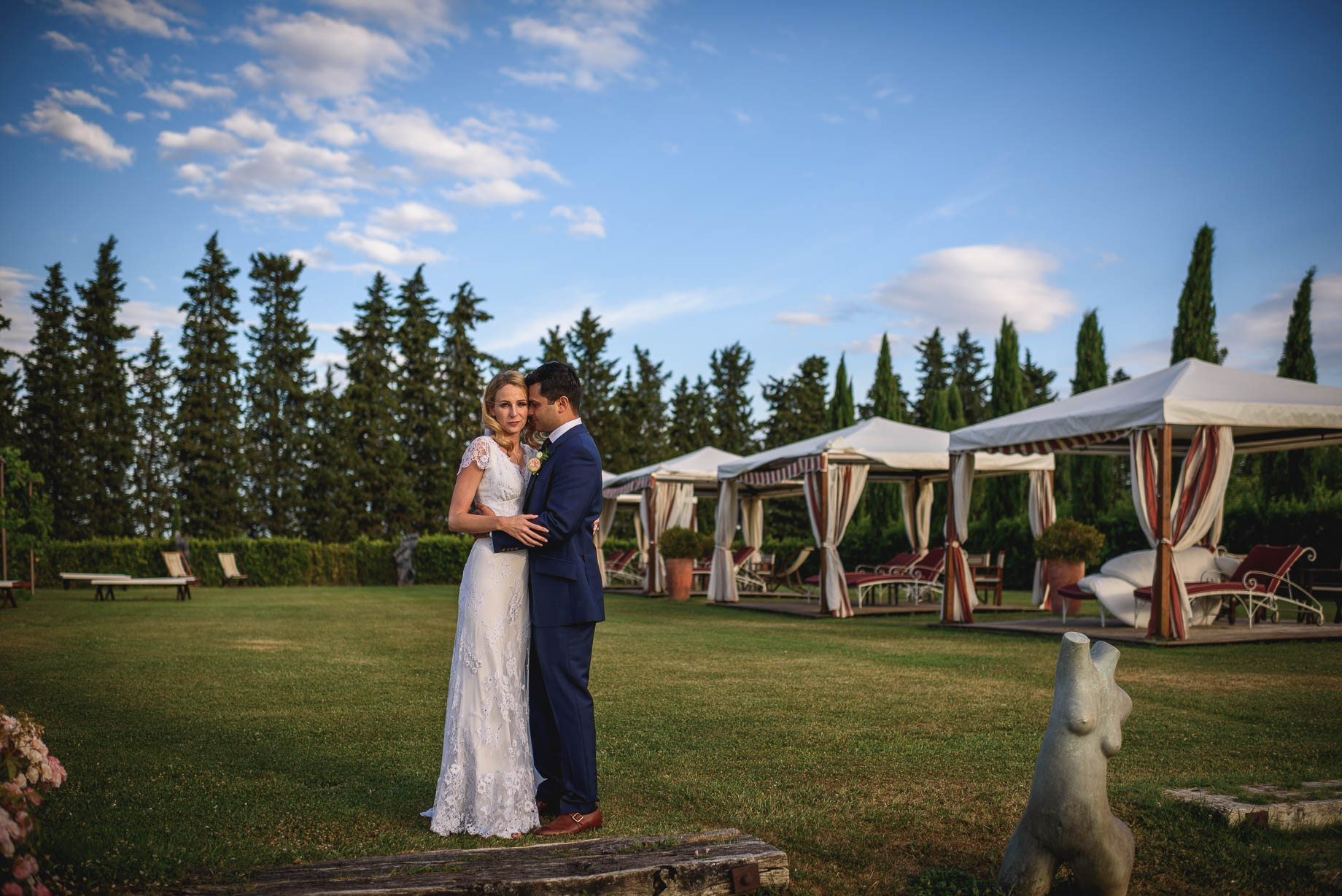 Tuscany wedding photography - Roisin and Moubin - Guy Collier Photography (150 of 251)