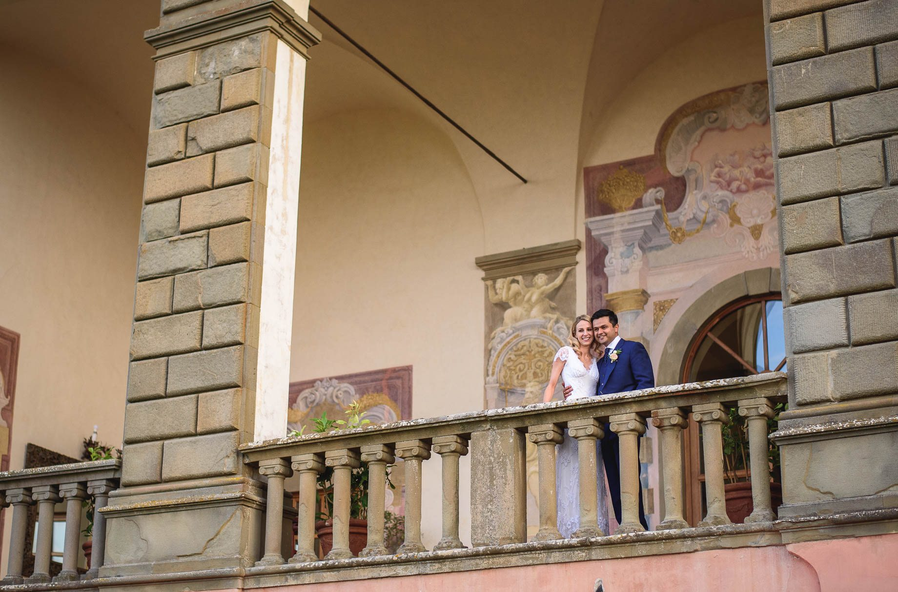 Tuscany wedding photography - Roisin and Moubin - Guy Collier Photography (162 of 251)