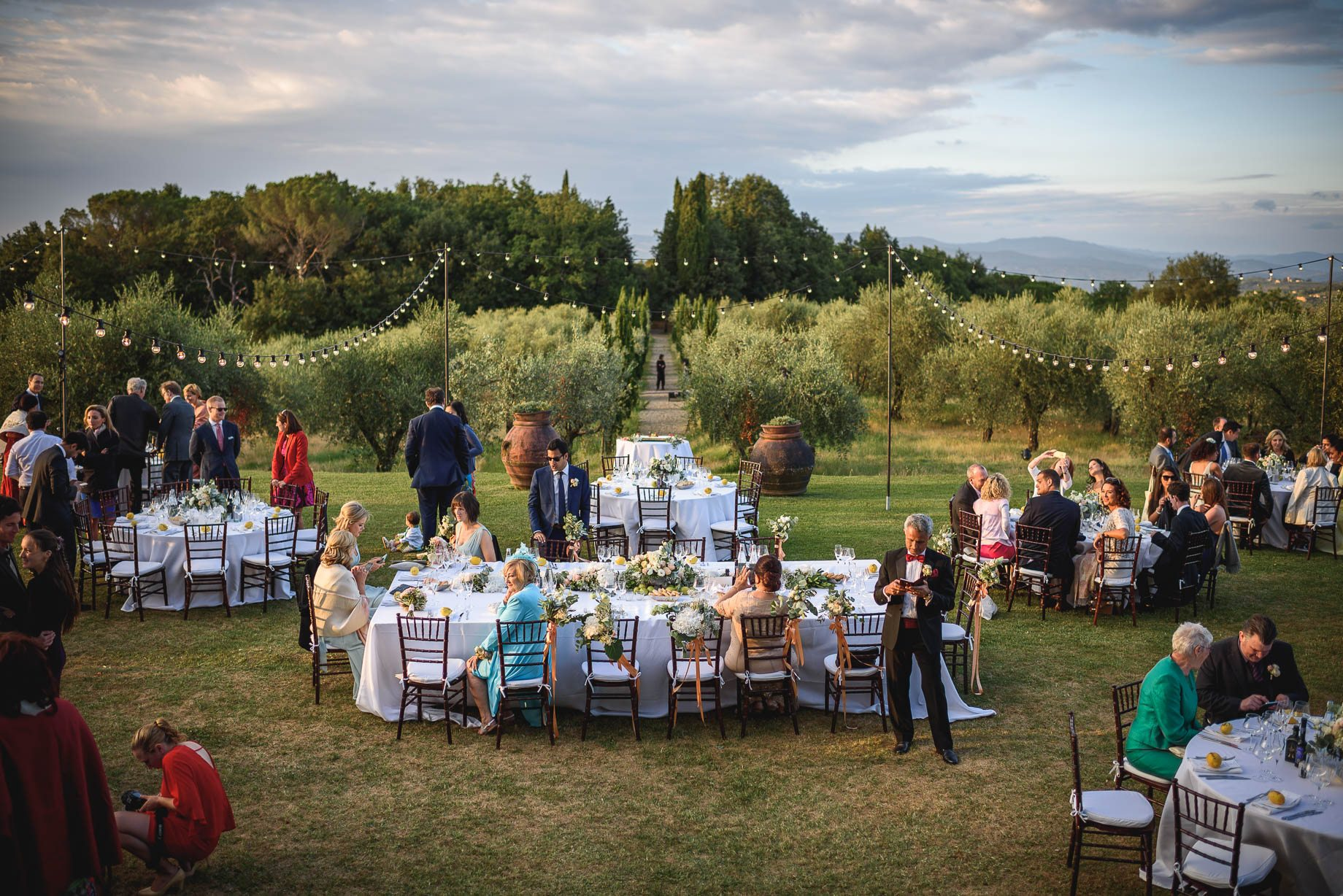 Tuscany wedding photography - Roisin and Moubin - Guy Collier Photography (164 of 251)