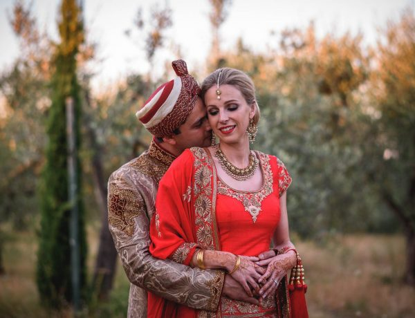 Tuscany wedding photography - Roisin and Moubin - Guy Collier Photography