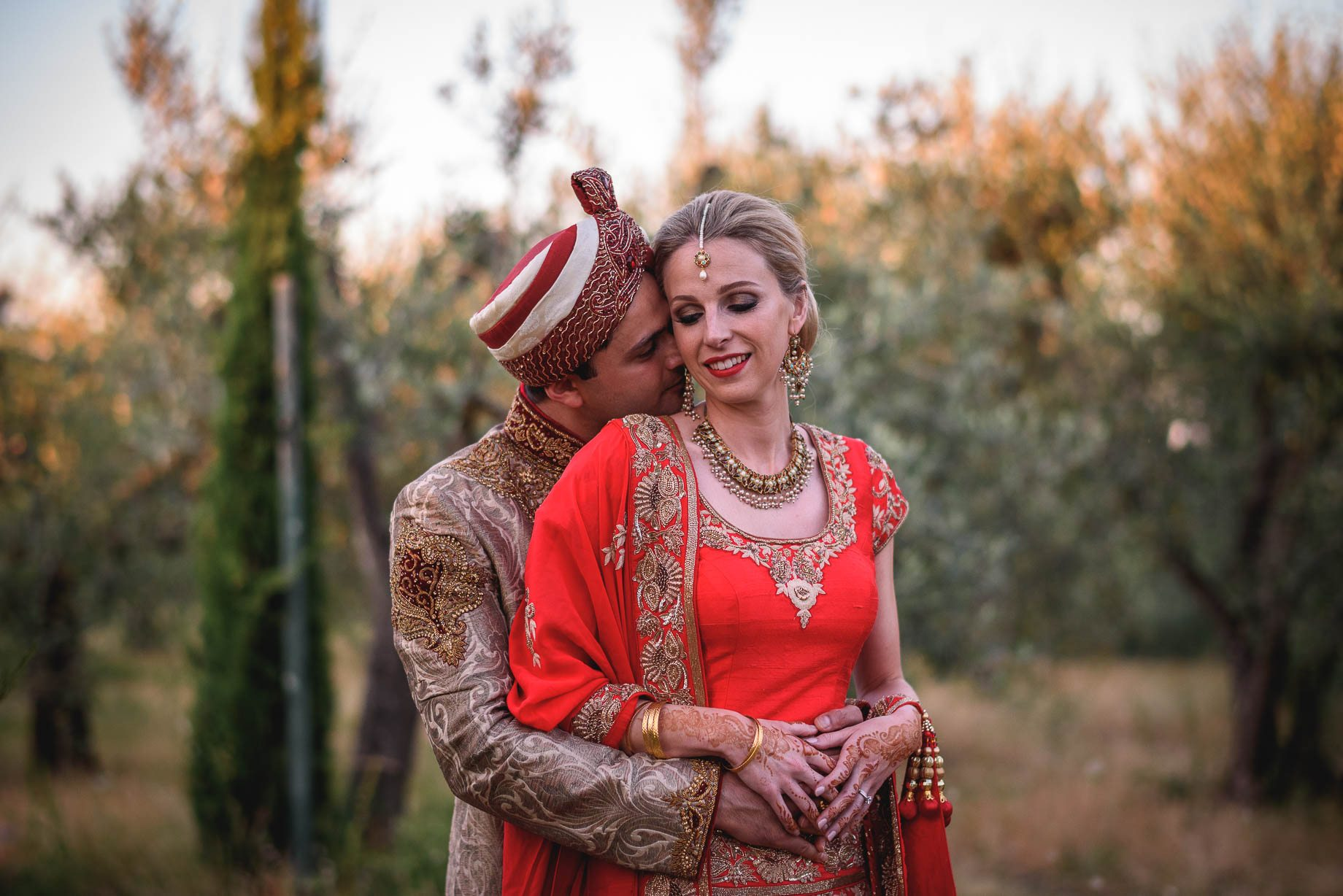 Tuscany wedding photography - Roisin and Moubin - Guy Collier Photography (166 of 194)