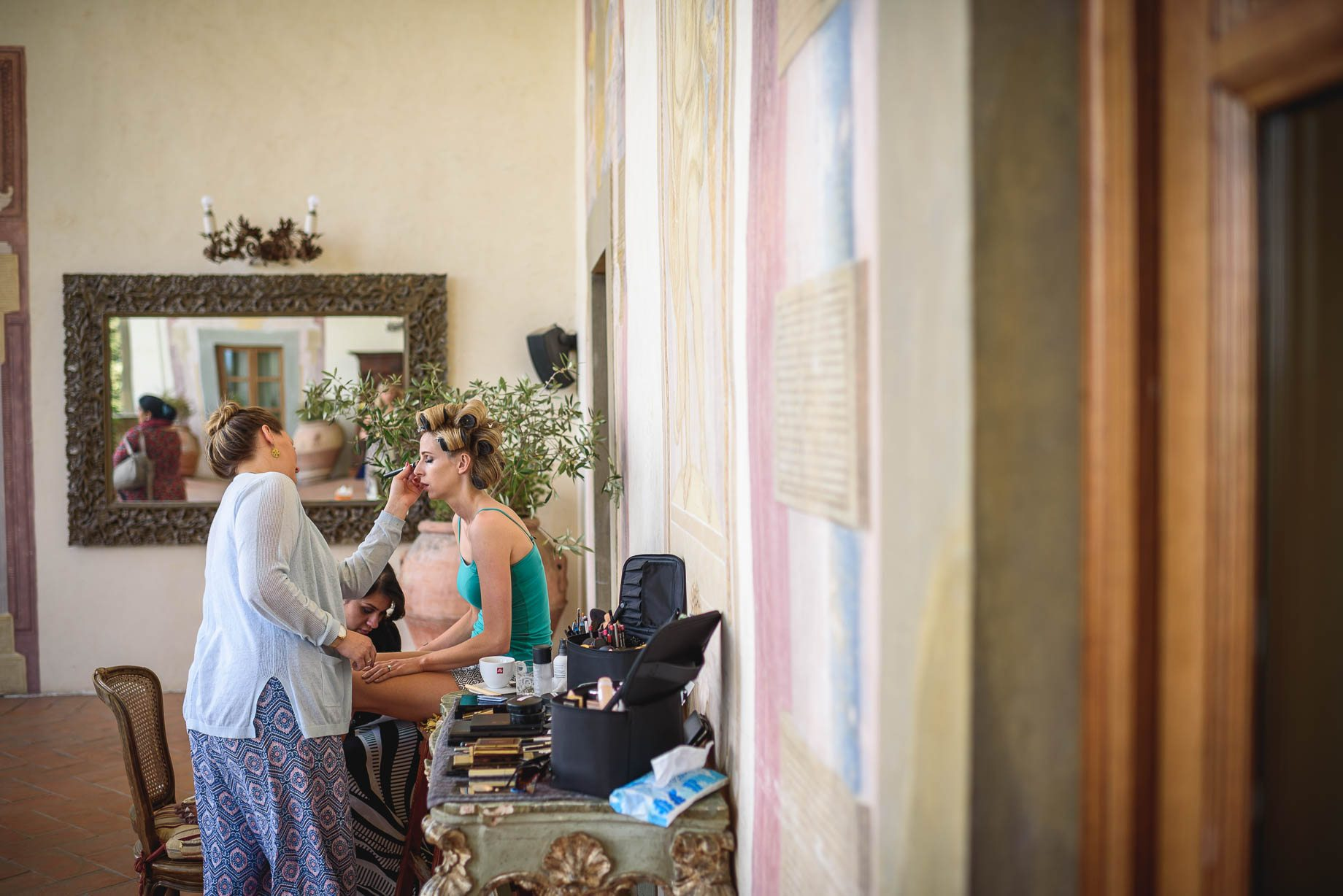 Tuscany wedding photography - Roisin and Moubin - Guy Collier Photography (34 of 194)